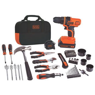 20V MAX* Lithium Drill & Project Kit