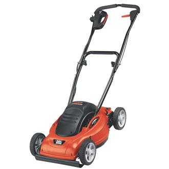 18 Electric LAWNHOG™ Mulching Mower with Flip-Over Handle