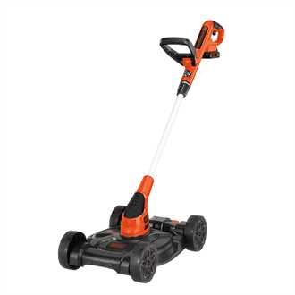 12 20v MAX* Lithium Cordless 3-in-1 trimmer, edger and mower