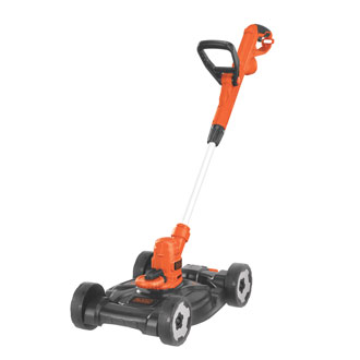 12 6.5 Amp Electric 3-in-1 trimmer, edger and mower