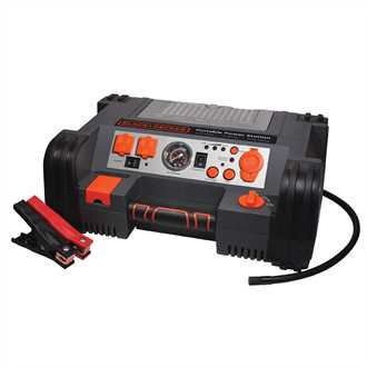 500 Watt AC/DC Portable Power Station /Jump-Starter /Compressor