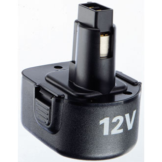 12V Black and Decker Battery (Stem Type)