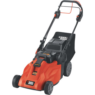 36V 19 Self-Propelled Rechargeable Mower with Removable Battery