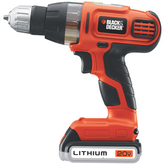 20V MAX* Lithium Drill/Driver with SmartSelect® Technology
