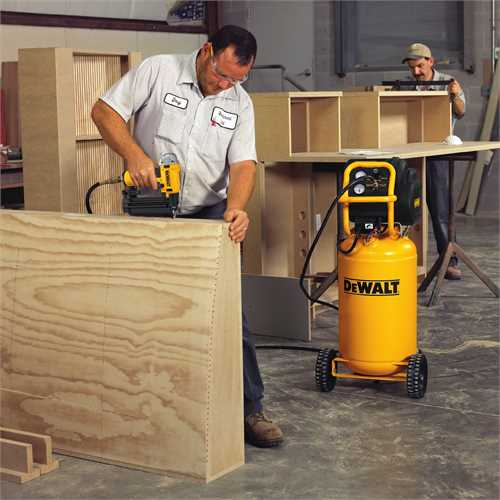 Dewalt D55168 at work site