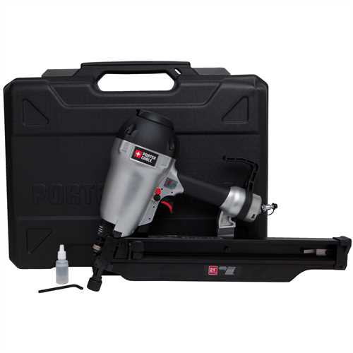 porter cable product details for plastic collated framing nailer model fr350b