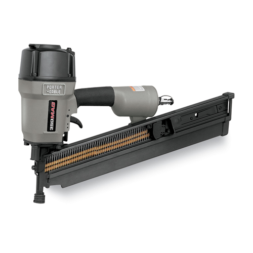 porter cable product details for magnesium 16d common round head framing nailer model fr350mag