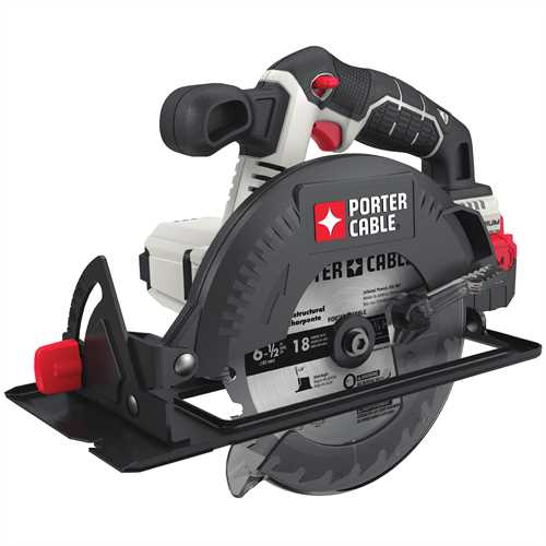 Porter cable product details for 20v max 6 12 in cordless porter cable product details for 20v max 6 12 in cordless circular saw tool only model pcc660b greentooth Choice Image