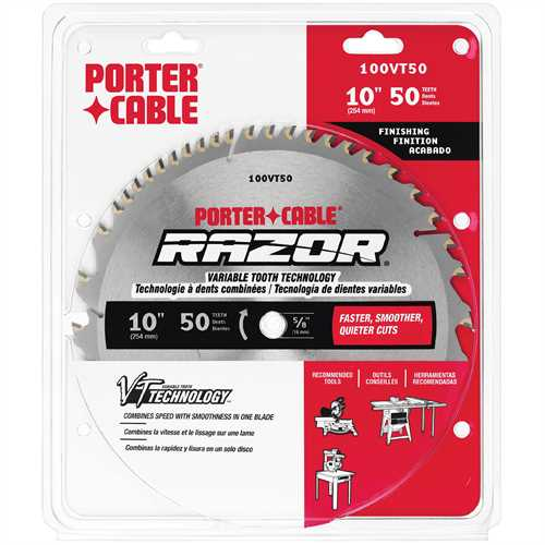 Porter Cable Product Details For 10 Quot 50 Tooth Razor