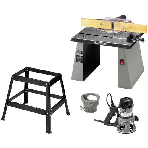 Porter Cable Product Details For Router Table Model 698