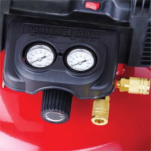 Porter Cable Product Details For 6 Gallon Oil Free Pancake