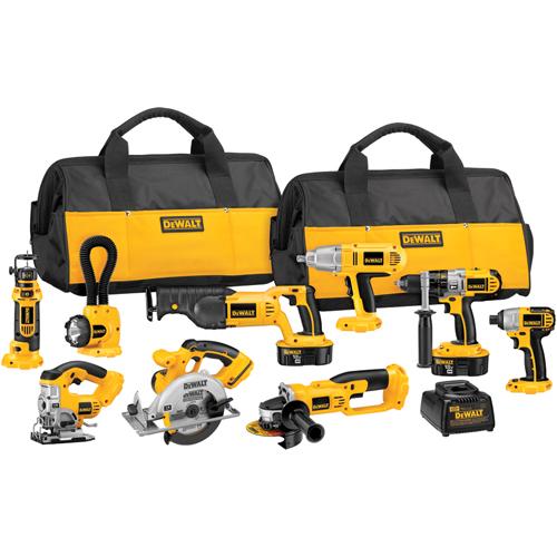 Dck955x 18v Cordless Xrp 9 Tool Combo Kit Dewalt Tools