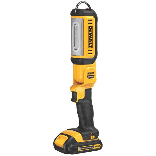 Dewalt 20v flashlight with battery corrosion