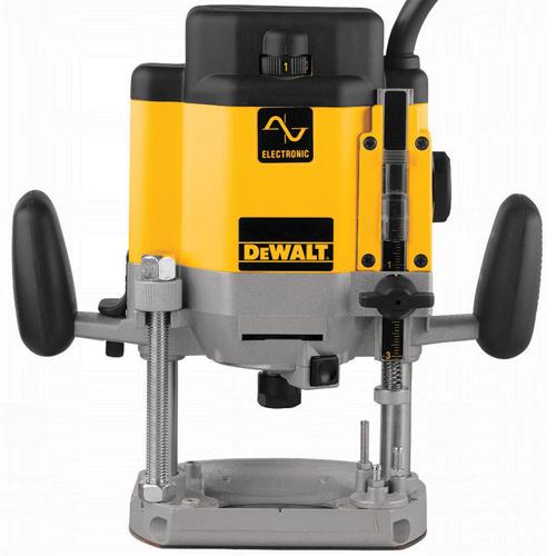 DW625 3 HP (maximum motor HP) EVS Plunge Router   DEWALT Tools
