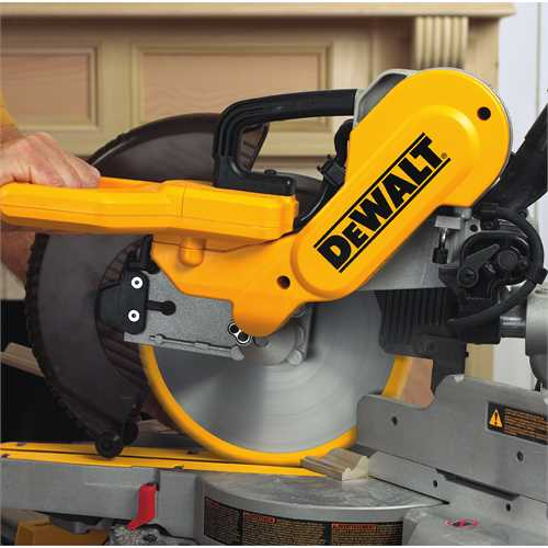 Dw717 10 Quot 254mm Double Bevel Sliding Compound Miter Saw Dewalt Tools
