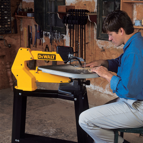 Dw788 20 Quot Variable Speed Scroll Saw Dewalt Tools