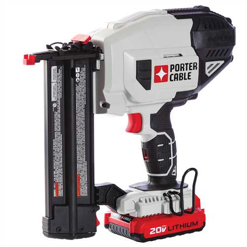 Porter Cable Product Details For 20v Max 18 Ga Cordless