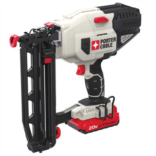 Porter Cable Product Details For 20v Max Cordless 16 Ga