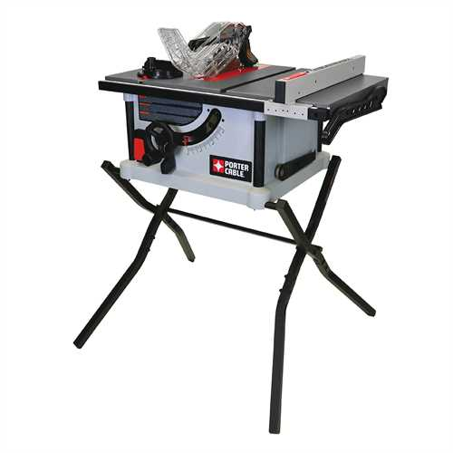 Porter Cable Product Details For 10 Quot Portable Table Saw