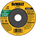 """DEWALT DW4528 4 1/2"""" X 1/8"""" X 7/8"""" CONCR. CUT"""
