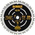 """DEWALT DWA31724D 7-1/4"""" 24T SAW BLADE"""